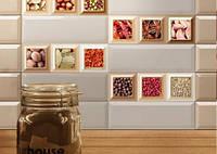 Плитка для кухни Monocolor Cube Warm Absolut Keramika