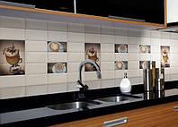 Плитка для кухни Monocolor Coffee Capuccino Marron Absolut Keramika
