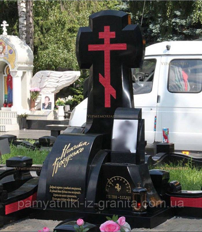 Крест из гранита № 11