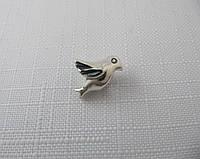 Бусина ШАРМ ПТИЧКА серебро 925*, фото 1