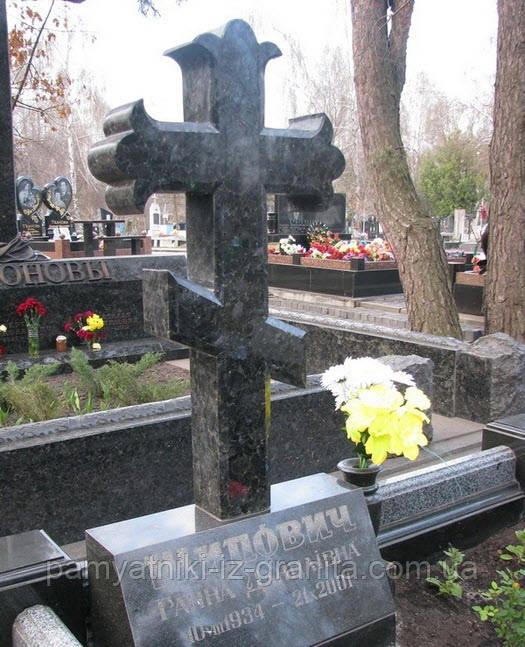 Хрест з граніту № 18