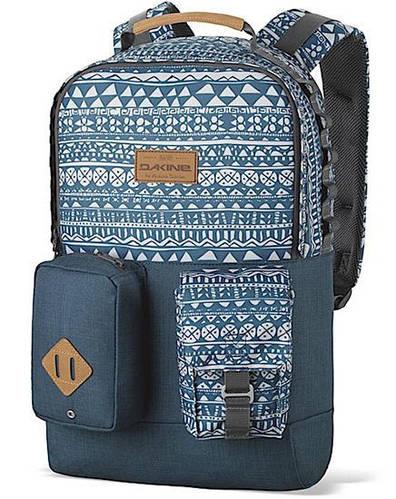 Орнаментальный городской рюкзак с откидным карманом Dakine MOD 23L mako 610934902181 синий
