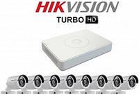 Комплект TurboHD видеонаблюдения Hikvision на 8 камеру купить Житомир Киев