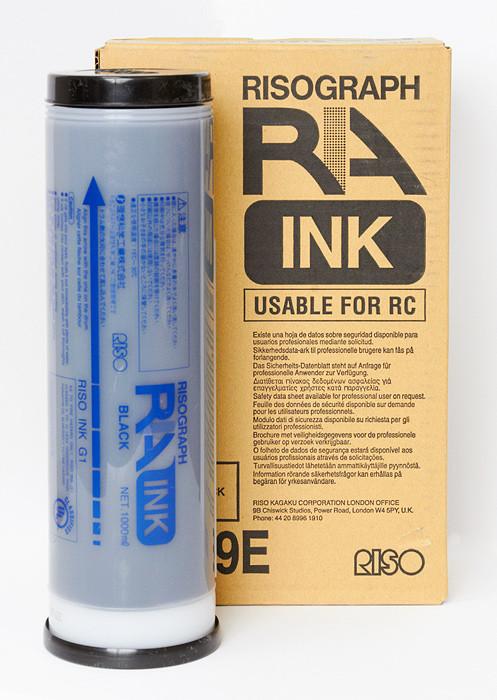 Краска черная для RA/RC (1000мл)