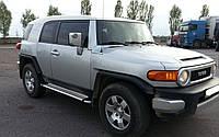 Боковые пороги Toyota FJ Cruiser (2008+)