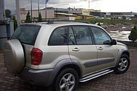 Боковые подножки, пороги Toyota Rav 4 (Premium)