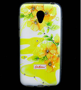 Чехол накладка для Meizu M2 mini силиконовый Diamond Cath Kidston, Sun Flowers