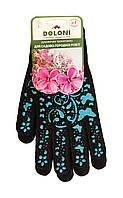 Перчатки трикотажные Doloni Garden для садово-огородных работ (Арт. 711) размер 9 - 1 пара.