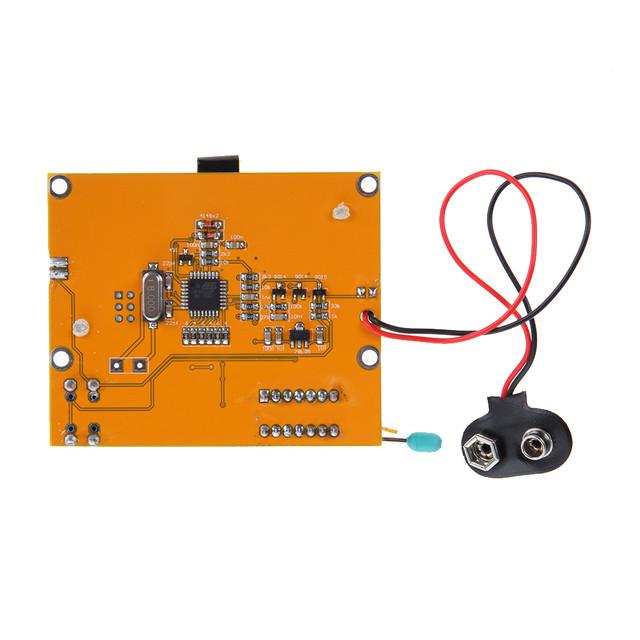 Мультитестер Mega328 M328 ESR (v. 2.68) LCR-T4 тестер транзисторов, светодиодов, конденсаторов, Esr + Lcr