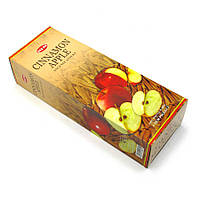 Аромапалочки Яблоко-корица, Благовоние для дома с ароматом корицы