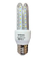 Светодиодная лампа LEDMAX 7Вт 3U7W E27 3000K, фото 1