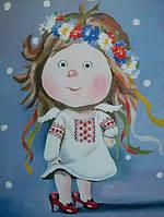 «Украиночка» измененная копия Гапчинской «Мамины туфли...»