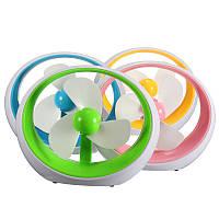 Вентилятор настольный USB DR-2013 (цвета в асс.) *1818