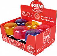 Точилка с контейнером пластиковая круглая 210K KUM