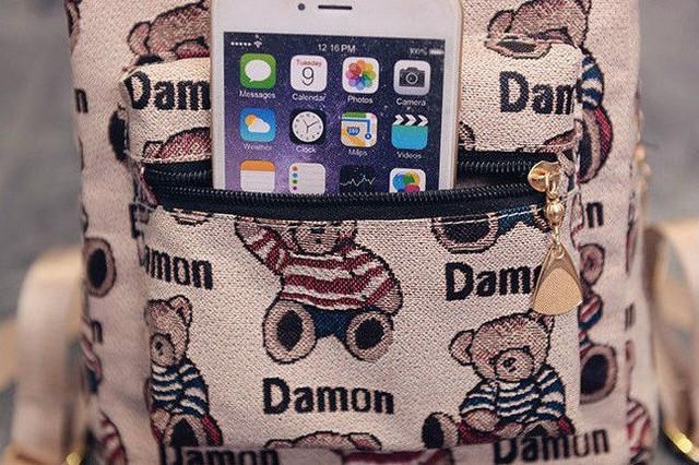 рюкзак с мишками для девочек