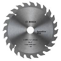 Циркулярный диск Bosch 190x30 24 Spedline ECO