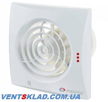 Бесшумные вытяжные вентиляторы серии Вентс Квайт