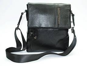 Мужская сумка черная, фото 3