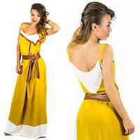 Янтарное платье 15552