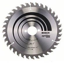 Циркулярный диск Bosch 190x30 36 Optiline