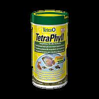 Tetra Phyll Идеальный корм в виде хлопьев для всех травоядных рыб, с жизненно важными балластовыми веществами