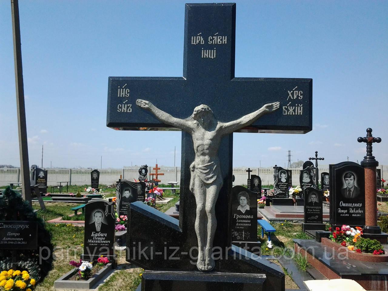 Крест из гранита № 61