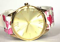 Часы geneva цветы 1