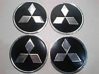 Наклейка на колпак диска Mitsubishi 90 мм