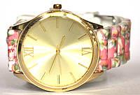 Часы geneva цветы 5