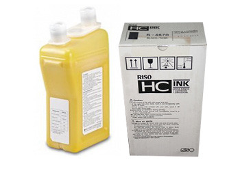 Краска желтая HC (1000 мл), 64000 тыс. страниц