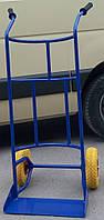 Тачка для пивных кег на пенополиуретановых колесах