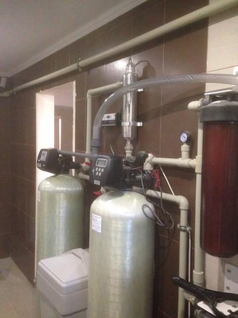 Увеличенный диаметр сливных труб, что улучшит качество промывки фильтрующей загрузки
