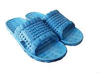 """Летний мужской тапочек """"TS Shoes"""" голубой"""