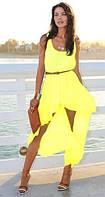 Платье шифоновое со шлейфом, фото 1