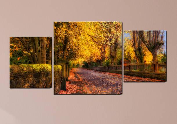 "Модульная картина ""Осенний день"", фото 2"