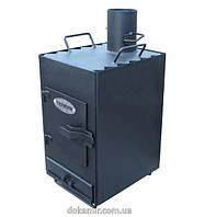 Двухкамерная печь Теплун (Жар.Ко) Практик с варочной поверхностью