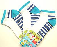 Разноцветные летние носки белые на мальчика