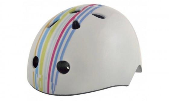 Шлем детский BELLELLI STRIPS size-M (графити бел.) (BB)