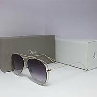 Солнцезащитные очки Dior дымчатые