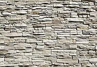 Фотообои 3 D  стиль Хай-тек стена с камней размер 366 х 254 см