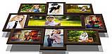 Мультирамка-коллаж Виктория на 9 фотографий коричневая, фото 2