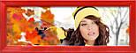 Мультирамка-коллаж Виктория на 9 фотографий красная, фото 3