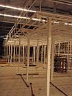Стелаж мезонін-поміст, складські стелажі, стелажні системи, фото 2