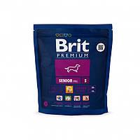 Brit Premium Senior S - сухой корм для пожилых собак мелких пород весом от 1 до 10 кг