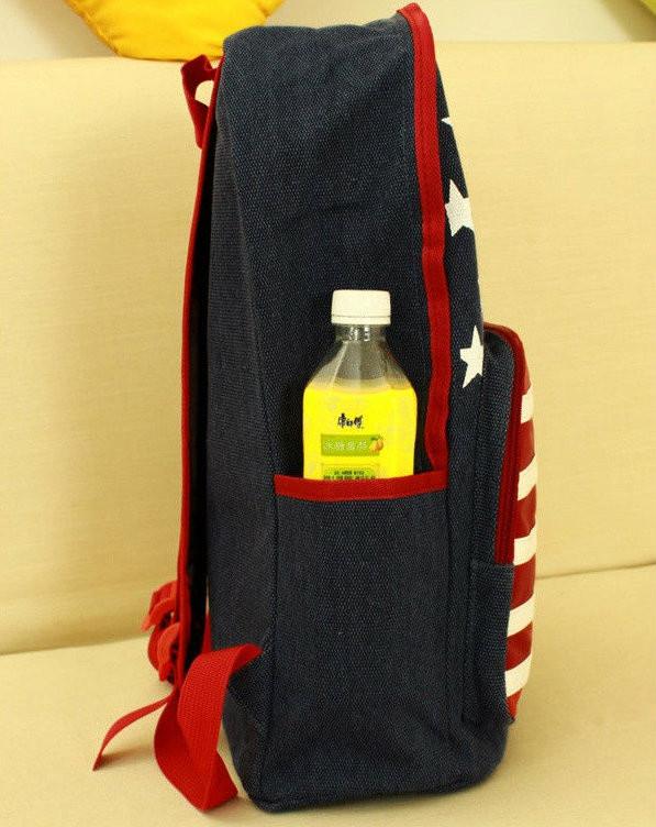 Прогулочный рюкзак с американским флагом
