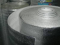 Стеклохолст ALU 2 арм. Алюминий двухсторон. (до 200 грд) 1м*25м