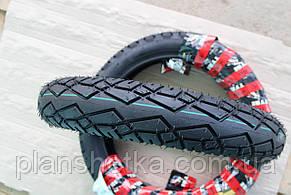 Шина на скутер 100-80-16 бескамерная, шоссейная