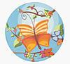 Вафельные картинки — 13030 Бабочка 3D — 21 см