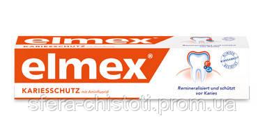 Зубная паста Elmex ® KARIESSCHUTZ Zahnpasta для защиты от кариеса 75 мл