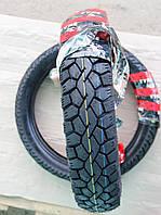 Шина на скутер 110/90 - 16 бескамерная шоссе шестислойная